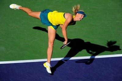 Maria Sharapova. Ảnh: AFP.