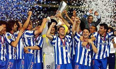 Porto đoạt UEFA Cup 2003.