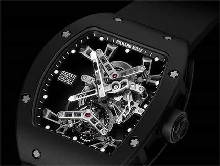 Cận cảnh chiếc đồng hồ được thiết kế đặc biệt cho Nadal.