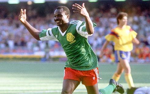 Cameroon là hiện thân cho sức manh và niềm tự hào của bóng đá châu Phi. Ảnh: AFP.