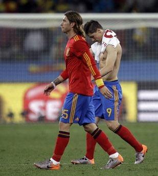World Cup 2010 tỏ ra khó lường ngay cả với ứng cử viên nặng ký.