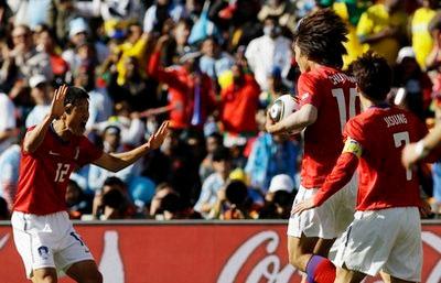 Hàn Quốc sẽ được hưởng niềm vui qua vòng bảng?