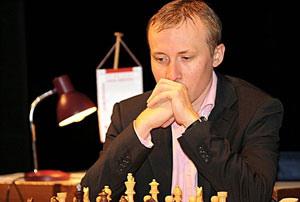 Nhà vô địch Ruslan Ponomariov. Ảnh: Sparkassen Chess.