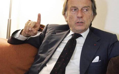 Chủ tịch Ferrari Montezemolo.