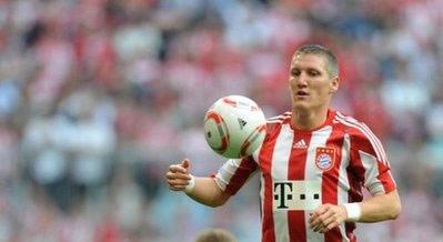 Schweinsteiger được xem là tiền vệ tấn công hay nhất nước Đức hiện nay.