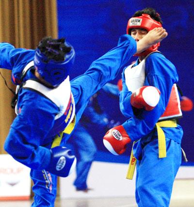 Môn võ của Việt Nam sẽ có mặt ở SEA Games 26. Ảnh: An Nhơn