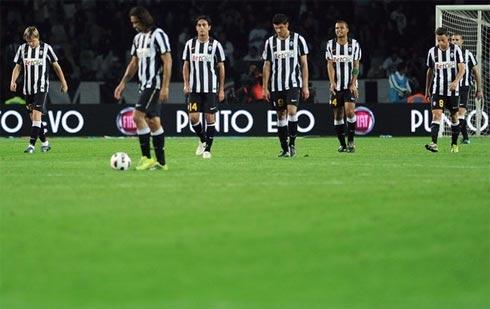 Đây là lần thứ ba liên tiếp Juventus trắng tay khi tiếp Palermo ở Serie A. Ảnh: AFP.