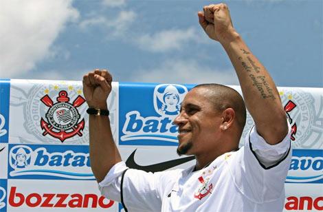 Carlos, 37 tuổi, thi đấu cho Corinthians từ đầu năm 2010.