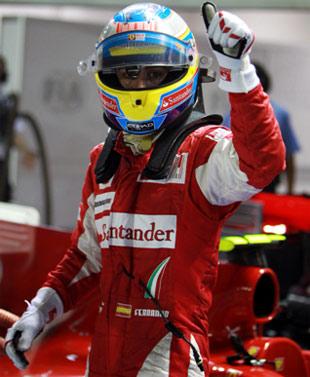 Alonso lần thứ hai giành quyền xuất phát đầu trong mùa giải năm nay.