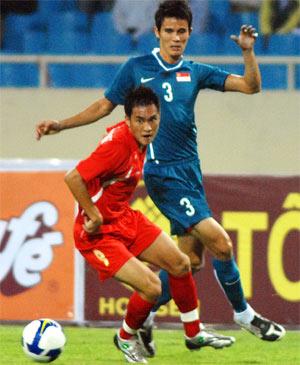 Việt Nam và Singapore chung bảng B tại AFF Cup vào tháng 12.