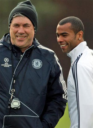 Ancelotti đánh giá cao cậu học trò Cole.