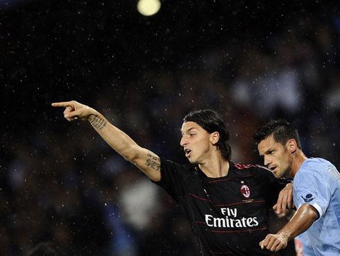 Ibrahimovic đang khát khao ghi bàn vào lưới đội bóng cũ. Ảnh: AFP.