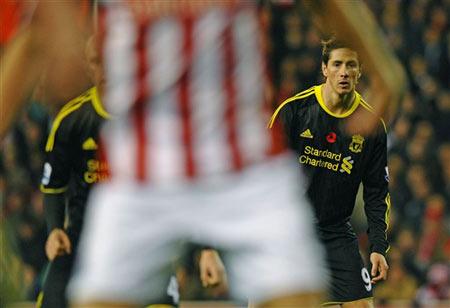 Torres tối qua cũng chỉ là cái bóng mờ nhạt.