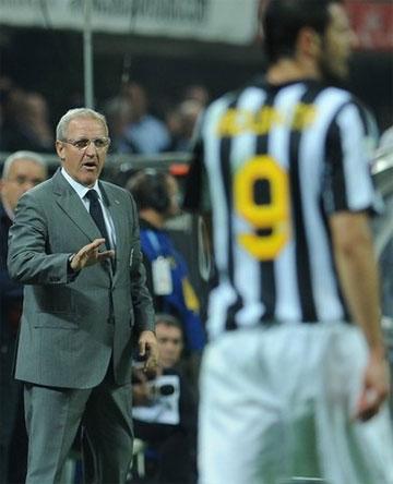 Del Neri tin rằng Juventus sẽ định hình xong và trở nên hoàn hảo từ đầu năm mới. Ảnh: AFP.