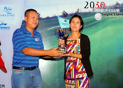 Nữ doanh nhân Hàn Quốc nhận giải thưởng