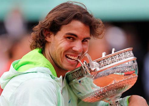 Năm 2010 khép lại một cách mỹ mãn với Rafael Nadal.