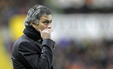 Trận lượt về đối với HLV Mourinho chỉ có ý nghĩa thủ tục.