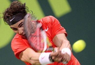 Nadal đã phải trải qua set đầu tiên căng thẳng.