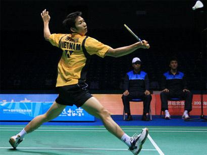 Nguyễn Tiến Minh đã không thể gây bất ngờ ở giải đấu danh giá dành cho 8 tay vợt mạnh hàng đầu thế giới.