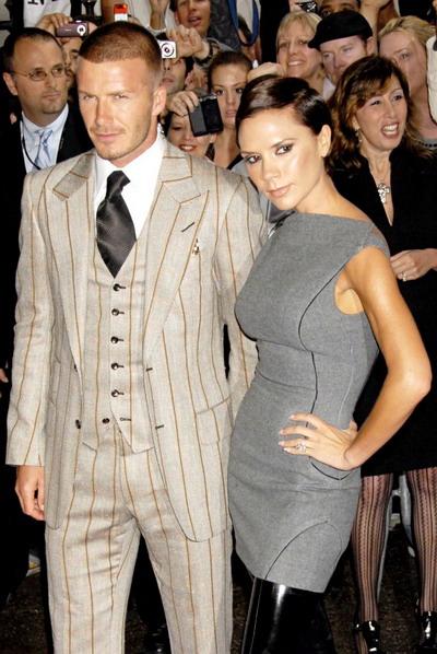 Vợ chồng David và Victoria Beckham. Ảnh: WEN.