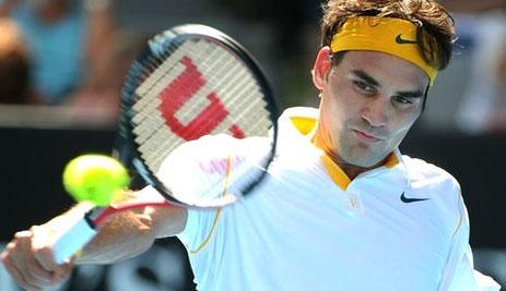Federer chưa cho thấy dấu hiệu thiếu khao khát chiến thắng.