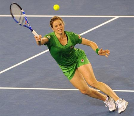 Clijsters đã đòi được món nợ thất bại ở giải Sydney International đầu tháng 1 khi thua chính Li Na.