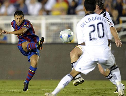 Sở trường đá cánh, nhưng trong lối chơi của Barca, Pedro rất nhiều lần được hưởng lợi và lập công với tần suất không thua kém những tay săn bàn hàng đầu ở nhiều CLB khác.