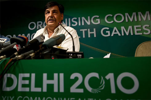 Lalit chỉ là một trong số nhiều quan chức thể thao dính líu tới tham nhũng ở Commonwealth Games 2010. Ảnh: NDTV.