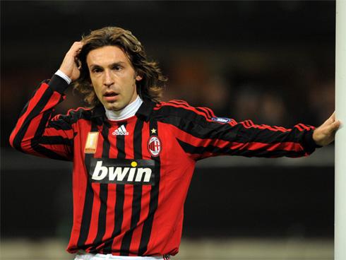 Pirlo thành danh trong màu áo Milan.