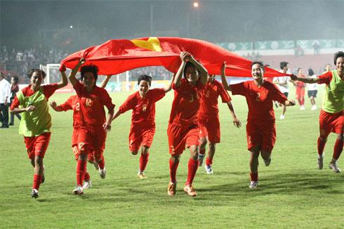 Tuyển nữ Việt Nam mất cơ hội bảo vệ ngôi vô địch ở SEA Games tới. Ảnh: Ngọc Quân.