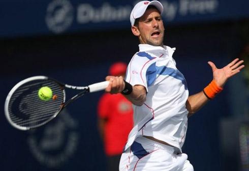 Djokovic đang có phong độ rất tốt.