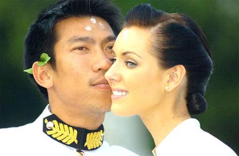Nhiều nguồn tin ở Thái Lan cho rằng Srichapan và Glebova đã thống nhất ly hôn từ tháng 7/2010. Ảnh: The Nation.