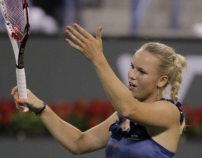 Wozniacki đã chứng tỏ vị trí hạt giống số một.