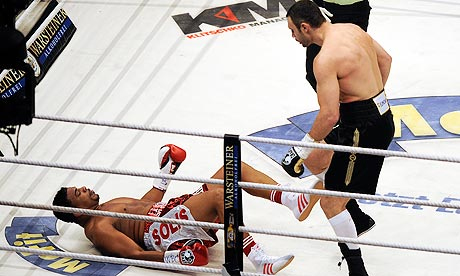 Solis gục ngã ngay hiệp đầu là kết quả mà cả anh lẫn Vitaly Klitschko lẫn đông đảo người hâm mộ không hề mong đợi.