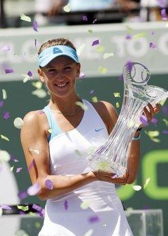 Azarenka hạnh phúc với chức vô địch Masters thứ hai trong sự nghiệp.