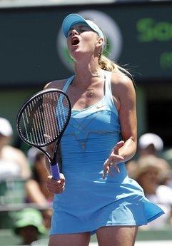 Sharapova lại một lần lỡ hẹn với danh hiệu ở trận cuối.