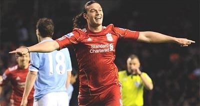 Carroll bước đầu đã tạo được niềm tin cho CĐV Liverpool.