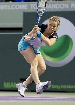 Kim Clijsters thường chơi tốt tại các giải Grand Slam gần đây.