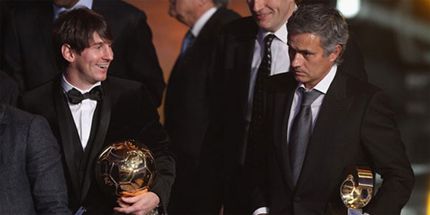 Messi sẽ có cơ hội ghi bàn đầu tiên vào lưới đội bóng của Mourinho khi Barca gặp Real tối thứ bảy tại sân Bernabeu.