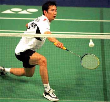 Tiến Minh tiếp tục thi đấu dưới sức tại giải châu Á. Ảnh: An Nhơn.
