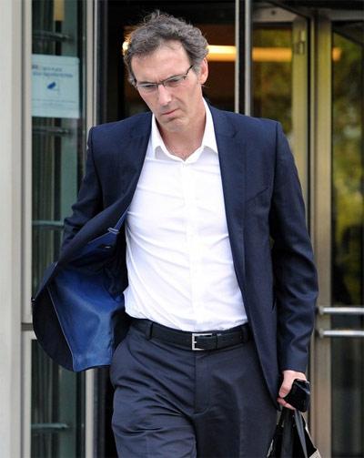 Blanc rầu lòng vì những cáo buộc phân biệt chủng tộc nhằm vào ông. Ảnh: AFP.