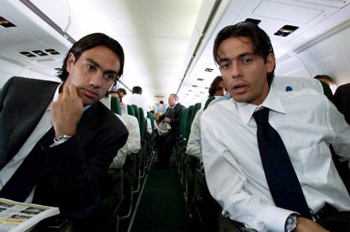 Nesta và Inzaghi được giữ chân nhờ vẫn còn hữu dụng và chấp nhận giảm lương.
