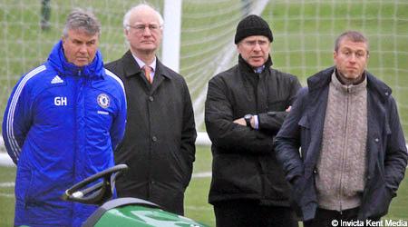 Hiddink dường như đã sẵn sàng trở lại Chelsea.