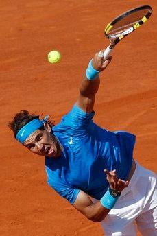 Nadal đã thi đấu hay trở lại, hôm qua.