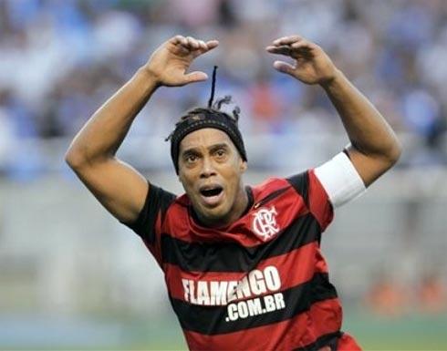 Ronaldinho là niềm hy vọng lớn nhất của Flamengo.