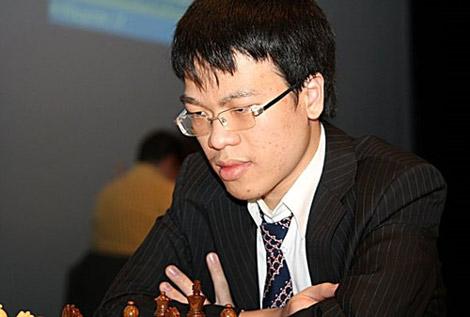 Quang Liêm. Ảnh: Sparkassen Chess.