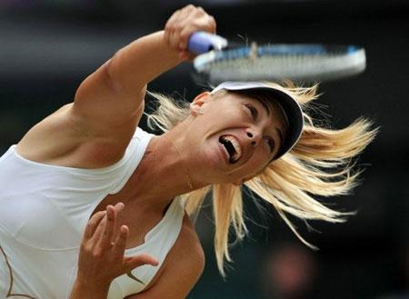 Sharapova đang nỗ lực trở lại phong độ như trước.