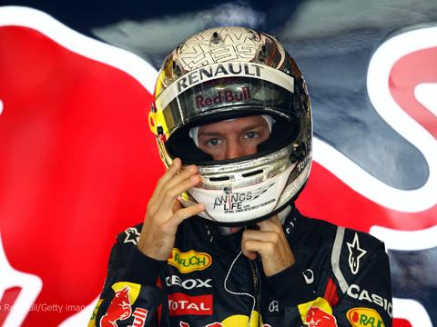 Màn trình diễn thất vọng tại những chặng vừa qua không khiến Vettel mất bình tĩnh.