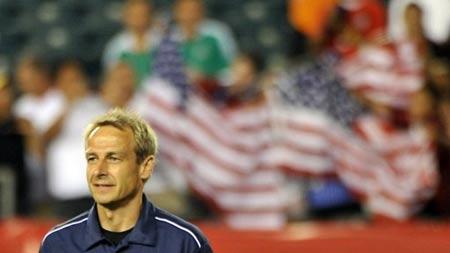 Klinsmann chưa có nhiều thời gian để tạo dấu ấn.