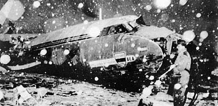 Vụ tai nạn ở Munich, làm mất đi nhiều thành viên của đội MU.
